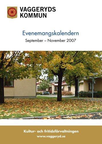 Evenemangskalendern Evenemangskalendern - Vaggeryds kommun