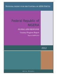 Nigeria 2012 GARPR Report Revised