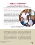 Cooperation Collaboration Comprehensiveness - The University of ... - Page 5