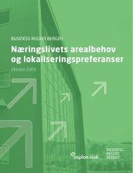 Næringslivets arealbehov og lokaliseringspreferanser - Business ...