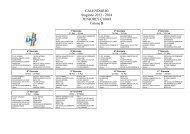 CALENDARIO Stagione 2013 - 2014 JUNIORES ... - Informacalcio.it