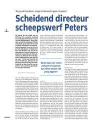 Scheidend directeur scheepswerf Peters - Twentevisie