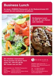 Flyer Business Lunch A5 RZ.indd - Ramada Hotels