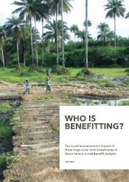 Who Is Benefitting? - Christian Aid