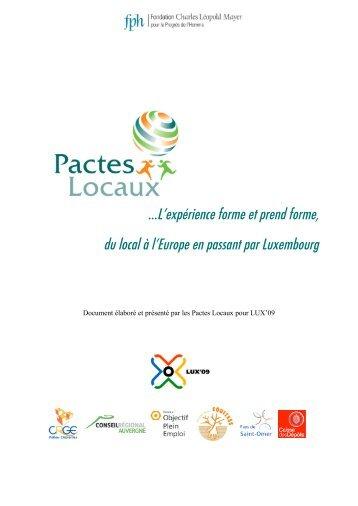 France - Pactes Locaux