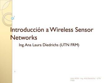 Introducción a Wireless Sensor Network