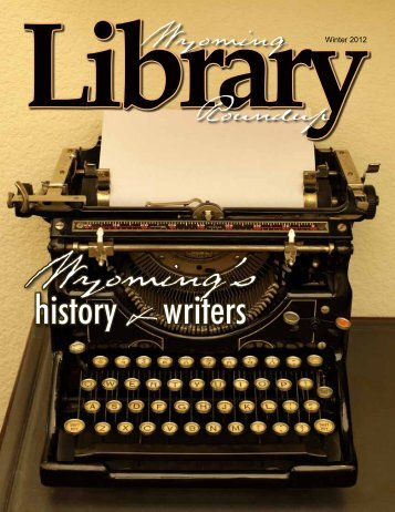 history & writers - the Wyoming State Library