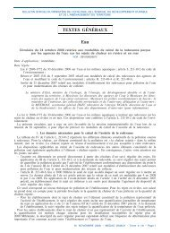 Circulaire du 24 octobre 2008 - Bulletin Officiel