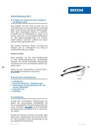 Zur Schärfanleitung: Elektr. Schärfgerät