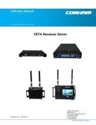 Software Manual VETA Receiver Series
