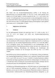Planfeststellungsbeschluss Teil C II