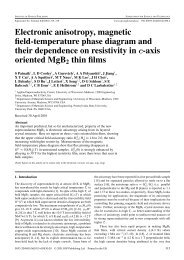 Electronic anisotropy, magnetic field-temperature phase ... - CEMR