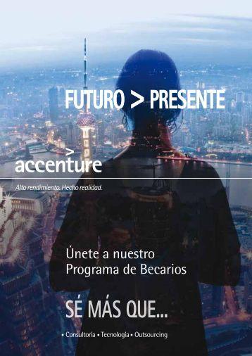 Programa Becarios Accenture - docencia de la ETSIT-URJC