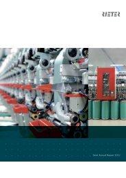 Semi-Annual Report 2012 - Rieter