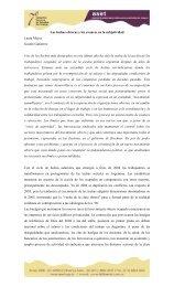 Las luchas obreras y los avances en la subjetividad Laura ... - ASET