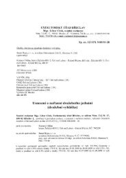 Sp. zn. 123 EX 3418/10-28 - Statutární město Ústí nad Labem