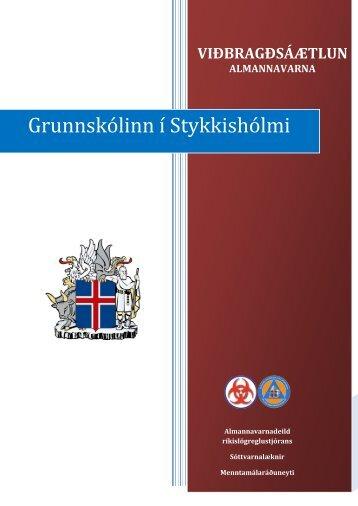 Viðbragðsáætlun