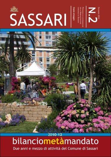 bilanciometàmandato - Comune di Sassari