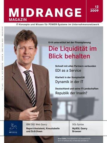 Die Liquidität im Blick behalten - Midrange Magazin