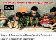 Session 4: Disease Surveillance/Vaccine ... - The INCLEN Trust