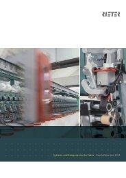 Geschäftsbericht 2011 Systeme und Komponenten im Fokus - Rieter