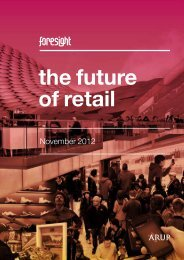 The Future of Retail - Arup