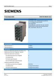 Product data sheet 6GK5108-0BA00-2AA3 - TP Automation e.K.