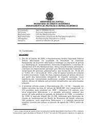 SDE - Conselho Administrativo de Defesa Econômica
