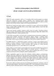 Analýza systému podpory obnoviteľných zdrojov energie a návrh na ...