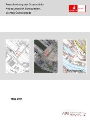 Ausschreibungsunterlagen Kopfgrundstück Europahafen - WFB ...