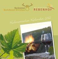 Kulinarischer Kalender pdf 2 MB - Becksteiner Rebenhof