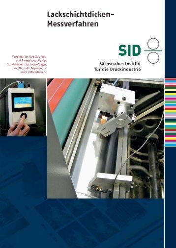 Lackschichtdicken- Messverfahren - Sächsisches Institut für die ...