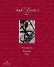 Preise und Arrangements 2013 - Romantik Hotel Reichshof