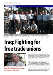 International: Iraq - Fighting For Free Trade Unions - of the Fire ...