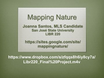 Mapping Nature - Emporia State University