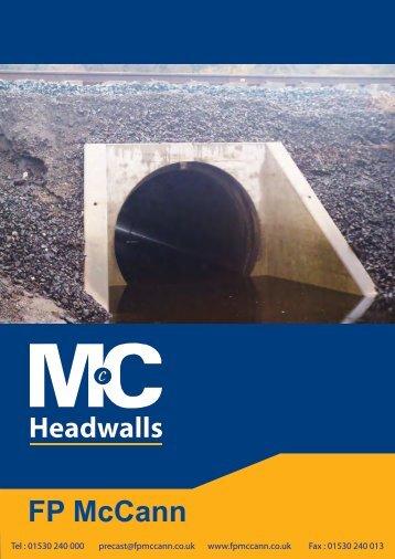 FP McCann Headwall Brochure Final - FP McCann Ltd