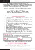 Primary School Admissions in Lancashire - Lancashire County ... - Page 2