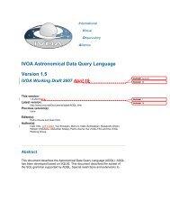 IVOA Astronomical Data Query Language Version 1.5