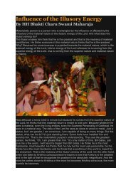 Influence of the Illusory Energy - ebooks - ISKCON desire tree