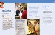 Deutsch-Amerikanische Bildungspartnerschaft - REWE-Foodservice