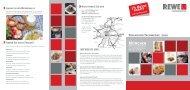 in München Ein Meer an Ideen - REWE-Foodservice