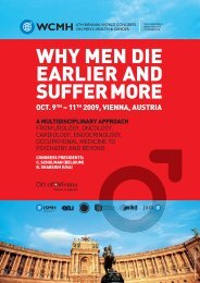 WHY MEN DIE EARLIER AND SUFFER MORE