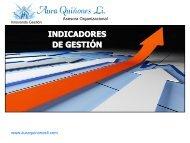 Tema: Indicadores de Gestion - aura quiñones li