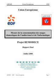 Union Européenne Projet REMODECE - Energie positive