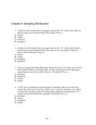 Chapter 9 Sampling Distributions Answers - Mona Shores Blogs