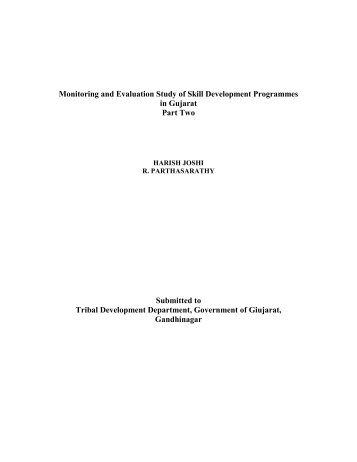 Skill Development Programme - Vanbandhu Kalyan Yojana ...