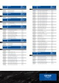 GROHE Price List 2009 - Page 2