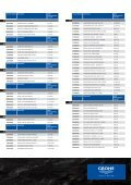 GROHE Price List 2009 - Page 4