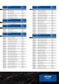 GROHE Price List 2009 - Page 6