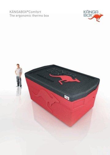 KÄNGABOX®Comfort The ergonomic thermo box - Hofland ...